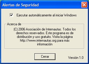 ejecutar al iniciar windows